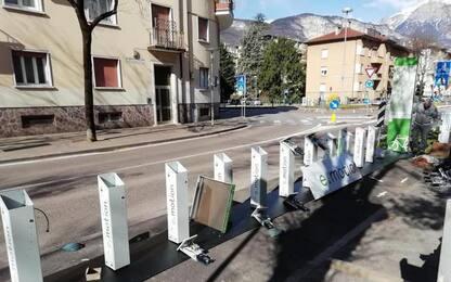 Bike sharing, operative a Trento le prime 9 ciclo stazioni