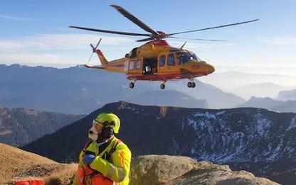 Soccorso Alpino Trentino, 1.221 interventi nel 2020