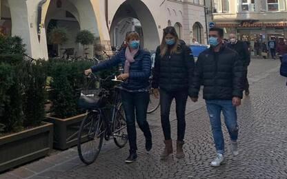 Bolzano e Trento tornano zona gialla