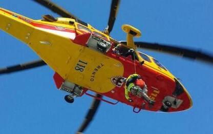 Boscaiolo ferito nel Primiero, intervento dell'elicottero