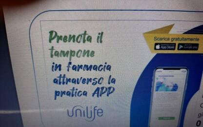 Green pass: app Unifarm per prenotare tamponi in farmacia