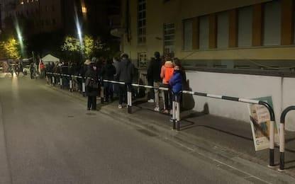 Green pass: tornano le code per i tamponi a Bolzano