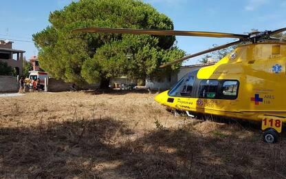Incidenti lavoro: cade da altezza 3 metri, ferito operaio