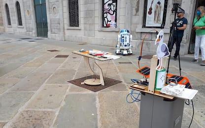 Ricerca: Maker Faire, tavolo 'autoreggente' e altre magie