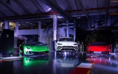 Lamborghini lancia 'With Italy, For Italy'