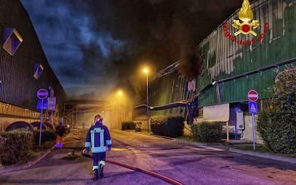 Incendio in impianto rifiuti Fvg,indici aria oltre normalità