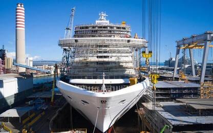 Fincantieri: sistema innovativo sanifica aria Msc Seashore