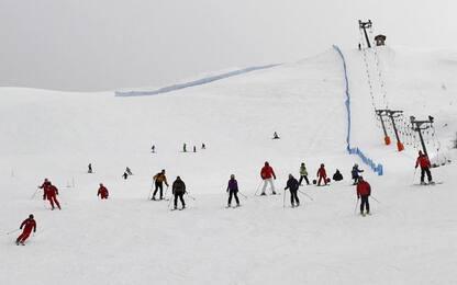 Regioni Alpine, impianti sci aperti solo ospiti hotel