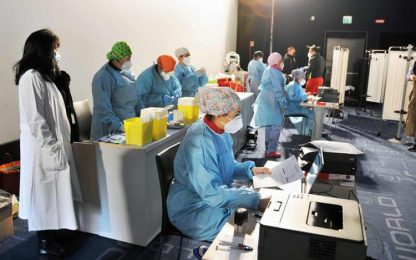 Vaccini: cominciati 'richiami' in Fvg per i 265 del Vax Day