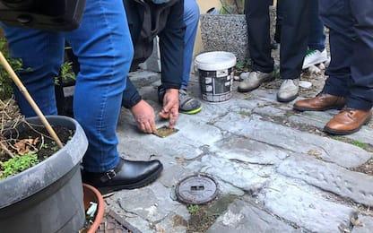 Giorno Memoria: a Trieste 13 nuove pietre d'inciampo