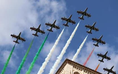 Frecce Tricolori: il primo marzo 60 anni della Pan