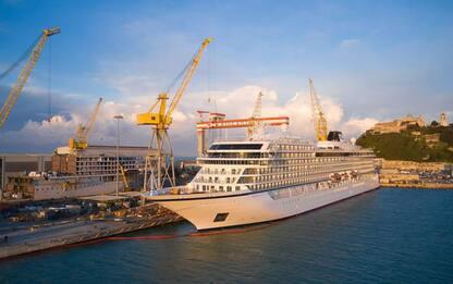 Fincantieri: consegnata ad Ancona 'Viking Venus'