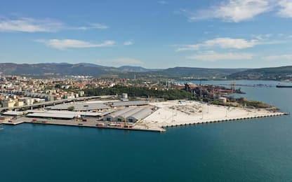 Piattaforma porto Trieste miglior opera Aicap 2020