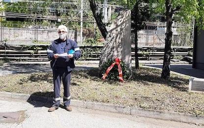 25 Aprile: nella Ferriera in dismissione, l'ultima cerimonia