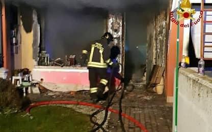 Incendi: distrutta abitazione nella notte in Friuli