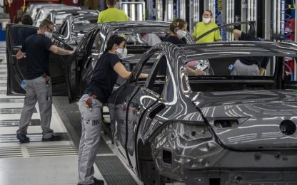 Auto: Confcommercio Fvg, -16,2% immatricolazioni in 2021