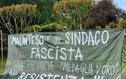 'Fascista', striscione su casa sindaco Pordenone