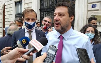 Salvini, parlo di tasse e lavoro, Letta di legalizzare droga