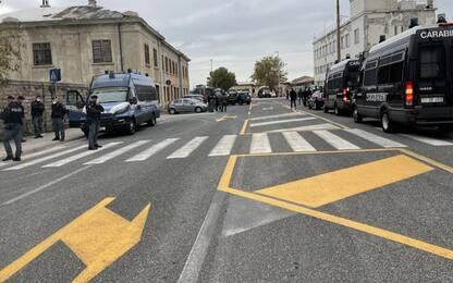 Green pass: flop protesta Trieste su strisce pedonali
