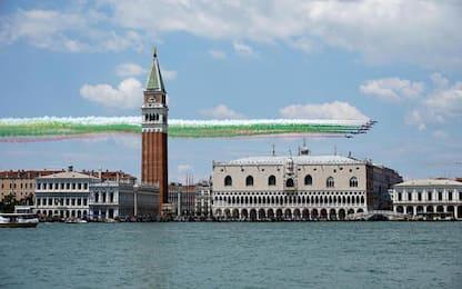 2 Giugno: Frecce Tricolori su Venezia