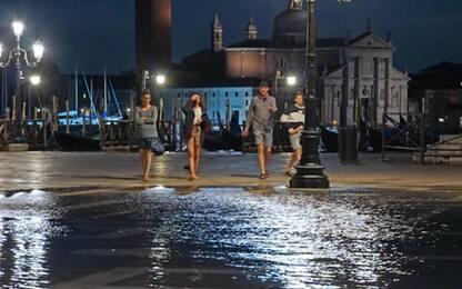 Venezia,ancora acqua alta, massima 99 cm