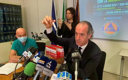 Coronavirus: focolaio Vicenza; Zaia, interventi immediati