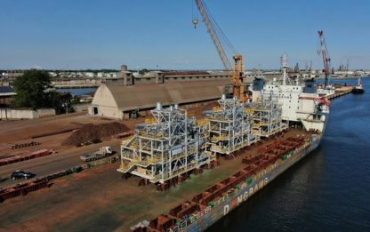 Industria: 3 boiler industriali Sofinter da Marghera in Oman