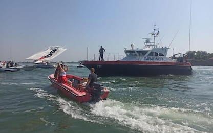 Mose: protesta antagonisti diventa 'battaglia navale