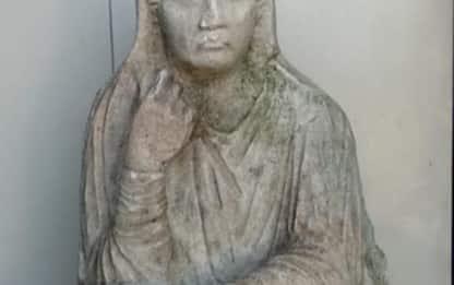 Ad Altino scoperta scultura romana integra
