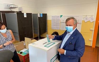 Elezioni: Venezia, Brugnaro vota a Mogliano