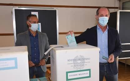 Elezioni: Zaia al seggio, veneti votino tranquilli