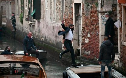 Bloccate a Venezia riprese Mission Impossible con Tom Cruise