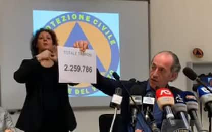 Covid: Veneto sfonda 2.000 casi giornalieri, 11 morti
