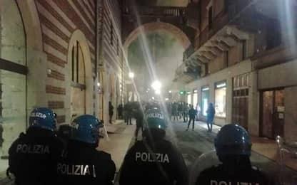 Scontri a manifestazione estrema destra Verona