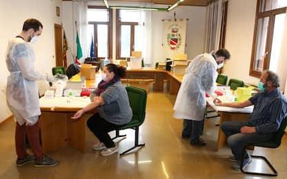 >ANSA-IL-PUNTO/COVID: Veneto, curva contagi scende ancora
