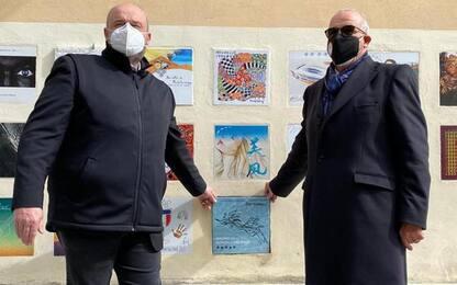 Vino: Federica Pellegrini 'firma' piastrella Brunello