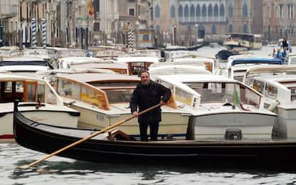 Covid: a Venezia -98% fatturato taxi acquei e -86% su gomma