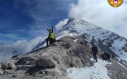 Cortina, valanga in Tofana, salvata scialpinista travolta