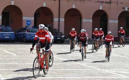 Croce Rossa: al via 'bike tour' da Venezia a Cortina