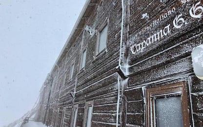 Maltempo e neve ostacolano missione 'Ice Memory' sul Rosa