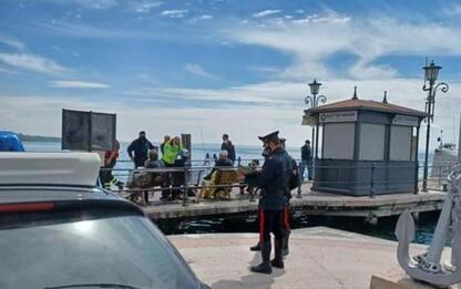 Barca affonda nel Garda con bimbo 4 anni, tutti salvi