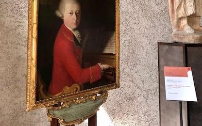 Il ritratto di Mozart giovane a Museo Castelvecchio di Verona