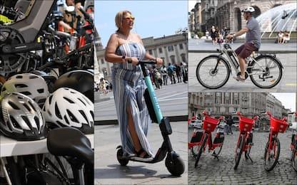Mobilità, come richiedere il bonus per bici e monopattini. FOTO