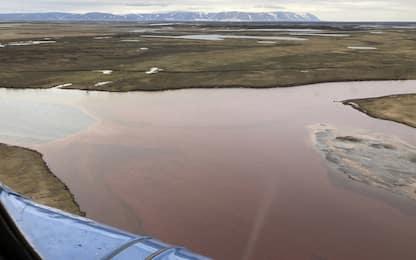 Siberia, diesel nel fiume: Putin dichiara stato d'emergenza