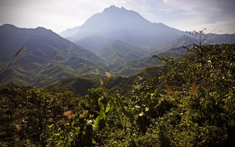 SABAH, BORNEO, MALAYSIA - MAY 11, 2009: Mount Kinabalu, highest in South East Asia, in the state of Sabah, Borneo island, Malaysia. (Photo by Andrea Pistolesi/Getty Images)