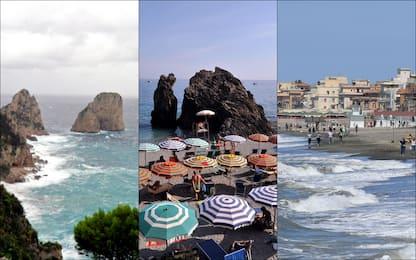 Mare in Italia, nel 2019 i reati ambientali aumentati del 15,6%. FOTO