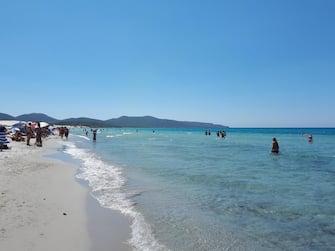 Spiaggia di Porto Pino e Capo Teulata (poligono militare), Sardegna sud occidentale