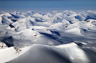 Riscaldamento globale nell'Artico, caldo record alle isole Svalbard