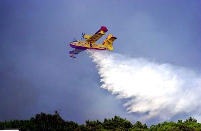 Sardegna, incendio a Posada: a fuoco 20 ettari di terreno