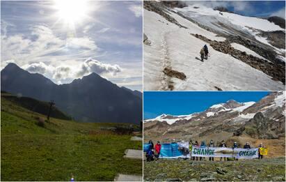 """Legambiente: """"Sul Monte Rosa sempre meno ghiacciai, deserto di rocce"""""""